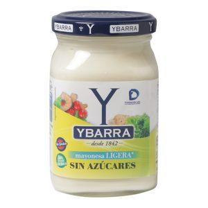 Bote de mayonesa Ligera Sin Azúcares Ybarra 225ml