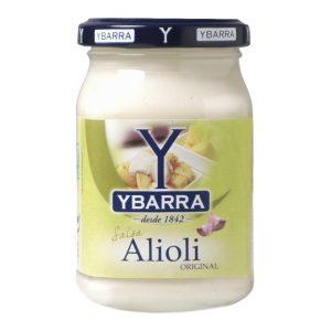 Bote de salsa AliOli Ybarra 225ml