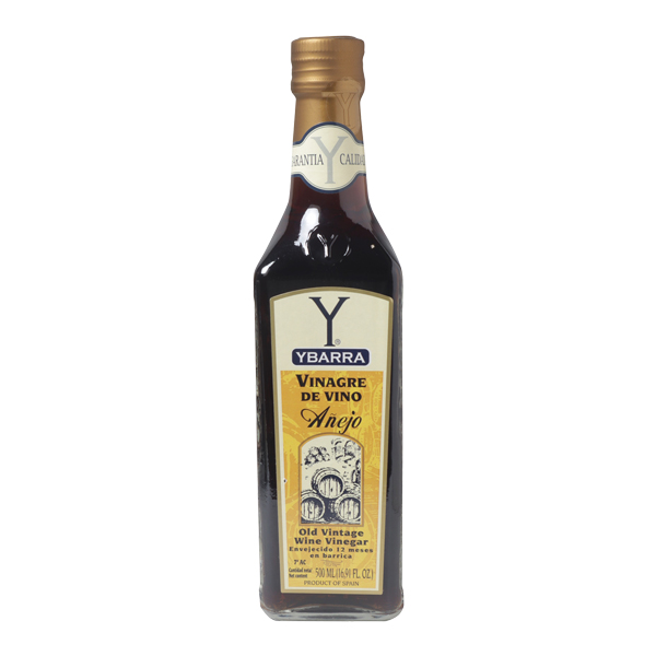 Botella de vinagre Añejo Ybarra 500ml