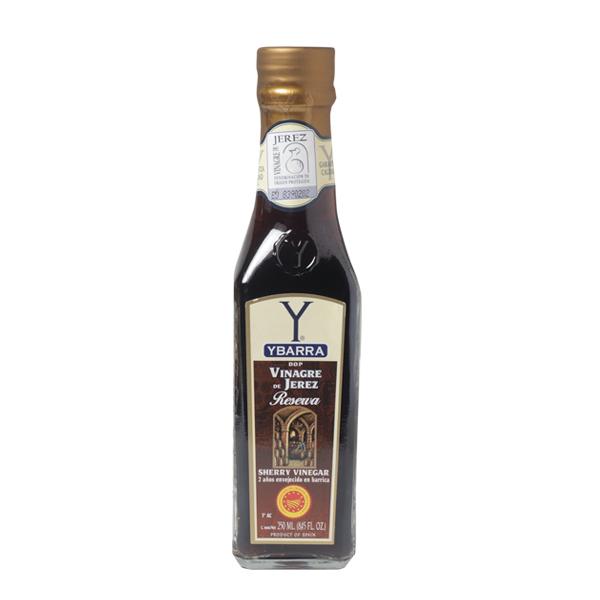 Botella de vinagre de Jerez Reserva Ybarra 250ml