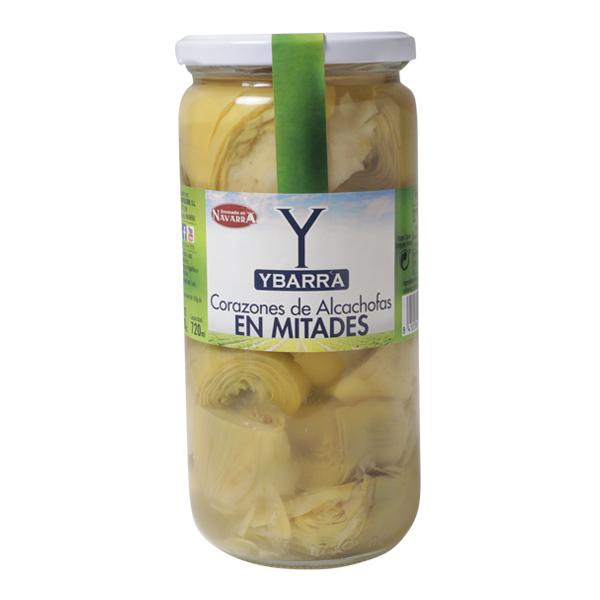 Tarro de Alcachofas en mitades Ybarra
