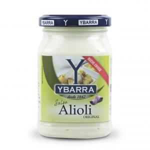 salsa alioli ybarra