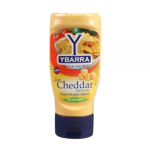 salsa cheddar ybarra