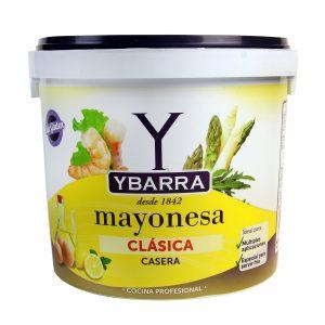 cubo de mayonesa clásica ybarra