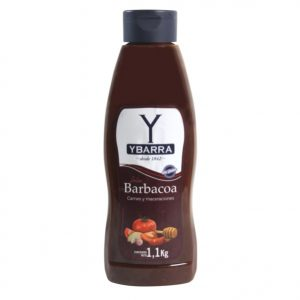 Bote de salsa Texas Barbacoa Ybarra 1 Litro